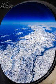 Unterwegs im A380 nach Deutschland