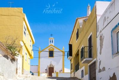 Die kleine Ortschaft Alcantarilha