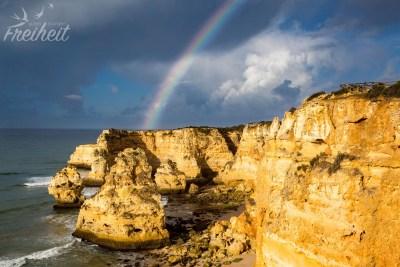Morgenlicht mit Regenbogen :)