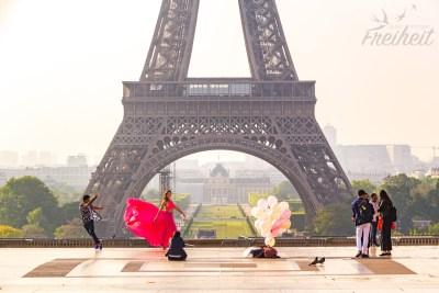 Täglich finden Model- und Hochzeitsshootings vor dem Turm statt ;-)