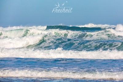 Der Atlantik ist ziemlich dynamisch ;-)