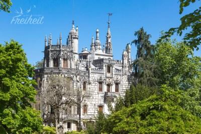 Quinta da Regaleiro - erbaut zwischen 1904-1910 für den Millionär António Augusto Carvalho Monteiro