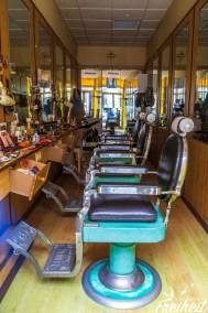 Schicker Friseurladen ;-)