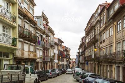 Parken in Portos Altstadt wird zur kleinen Herausforderung