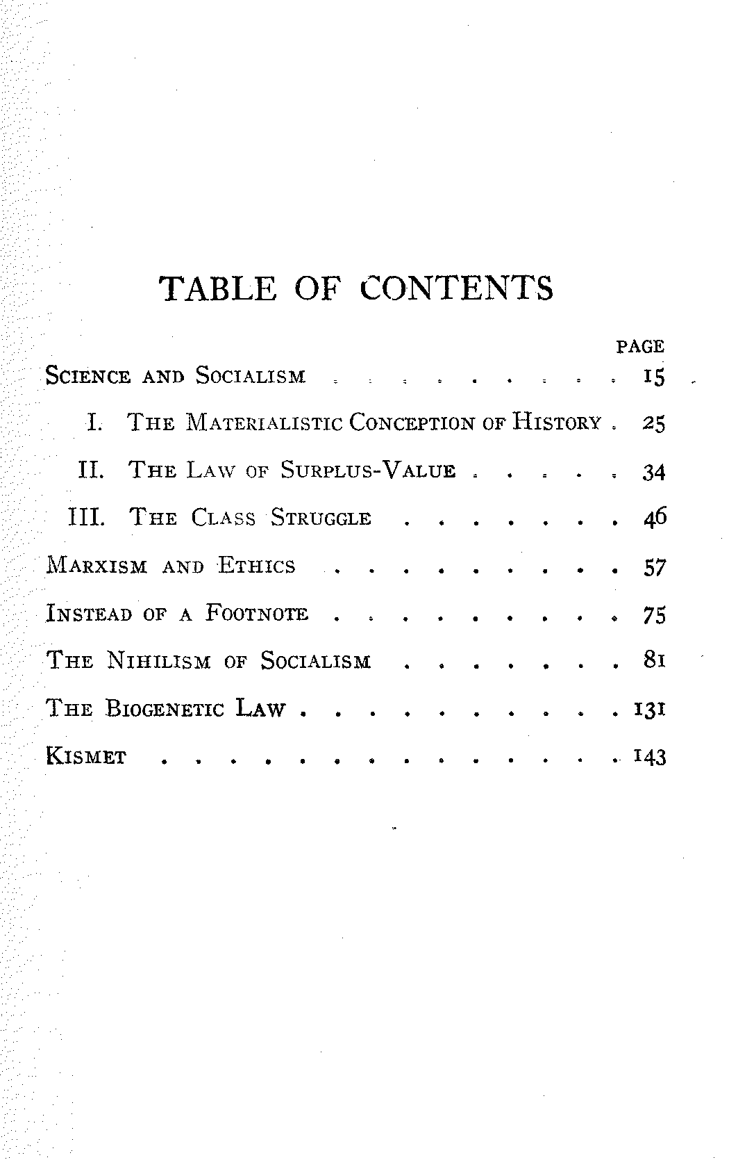 The Project Gutenberg Ebook Of Socialism Positive And Negative By Robert Rives La Monte