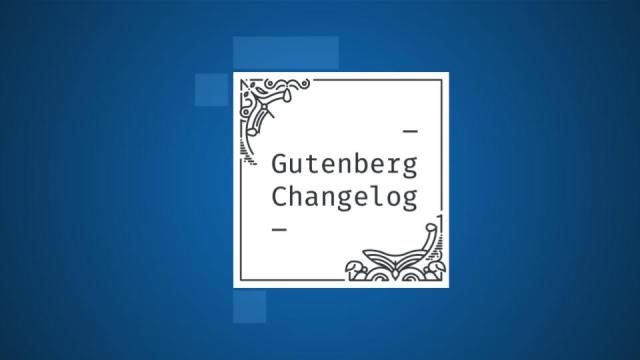 Gutenberg Changelog Episode 38 cover