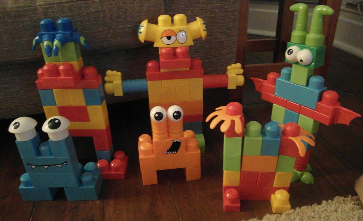 """Mega Blocks Monsters"" by sammynetbook is licensed under CC BY 2.0"