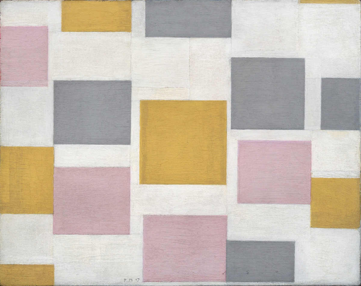 Piet Mondrian (1872–1944), Composition with Colour Planes 5, 1917, MOMA NYC