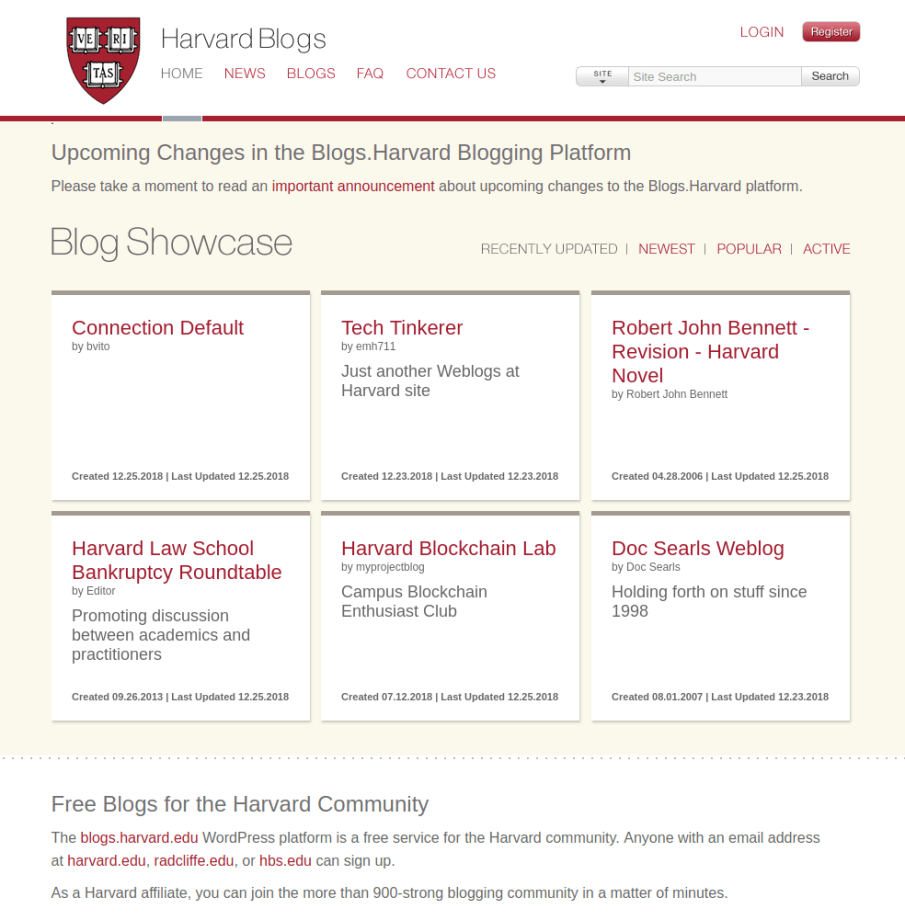 Harvard Blogs | Gutendev | WordPress websites with Gutendev | New WordPress | WordPress Tutorials | Plugins WordPress