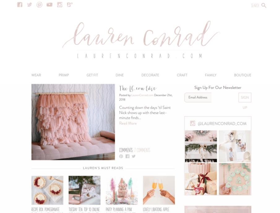 Lauren Conrad | Gutendev | WordPress websites with Gutendev | New WordPress | WordPress Tutorials | Plugins WordPress
