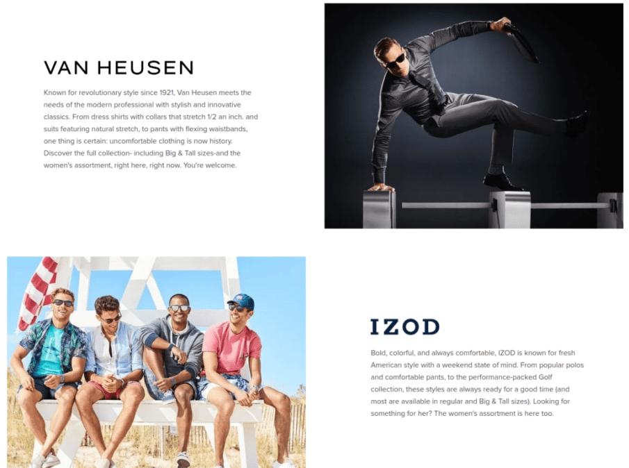 Van Heusen | Gutendev | WordPress websites with Gutendev | New WordPress | WordPress Tutorials | Plugins WordPress