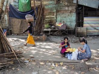 Strassenleben in Yangon