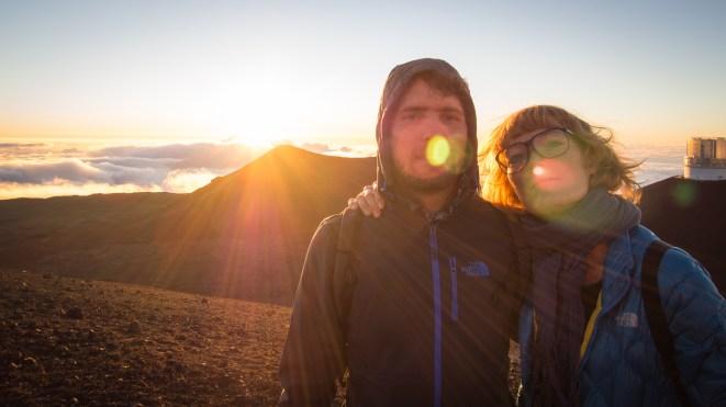 Auf dem höchsten Berg der Welt (10'400 Meter ab Meeresgrund)
