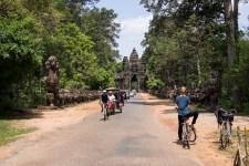 Drahtesel in Siem Reap, Kambodscha.