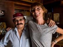 Mit Raul, Mister Ceviche, in Arequipa, Peru.