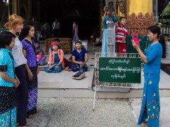 Fotosujet in Yangon, Myanmar.