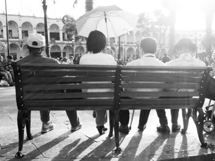 Auf der Plaza de Arma