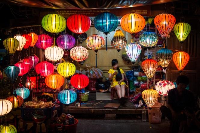 Nachtmarkt von Hoi An