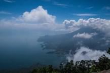 Aussicht vom Gipfel des Vulkans San Pedro