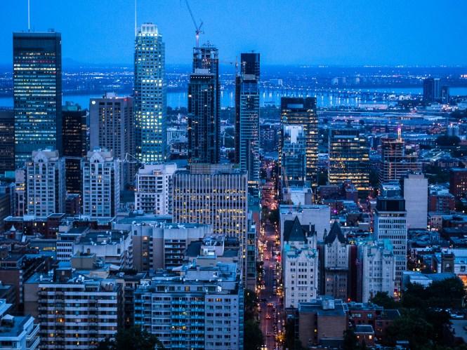 Montreal vom Berg aus