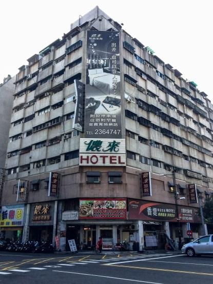 Schönes Hotel in Taiwan.