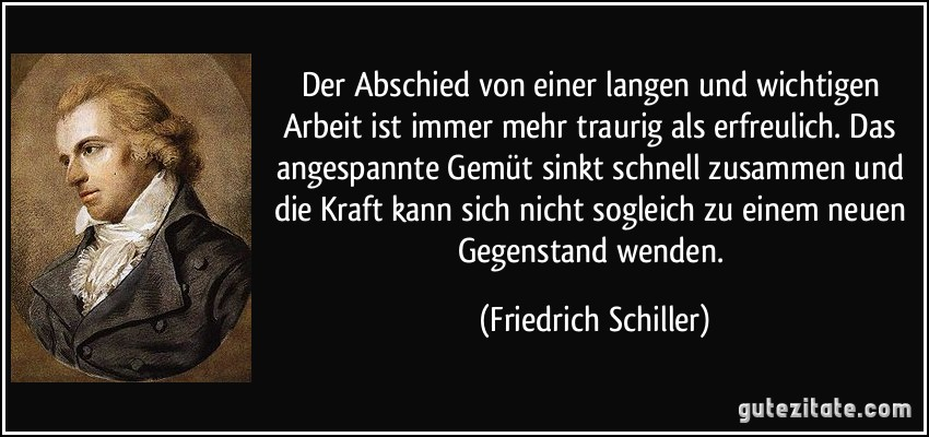 Schiller Zitate Arbeit Das Leben Zitate