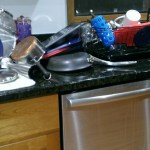 Typical kitchen mess