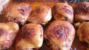 Simple Spicy Baked Chicken for SCD