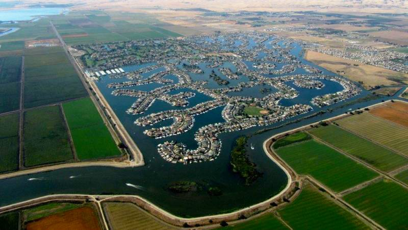 Aerial View of Discovery Bay, California