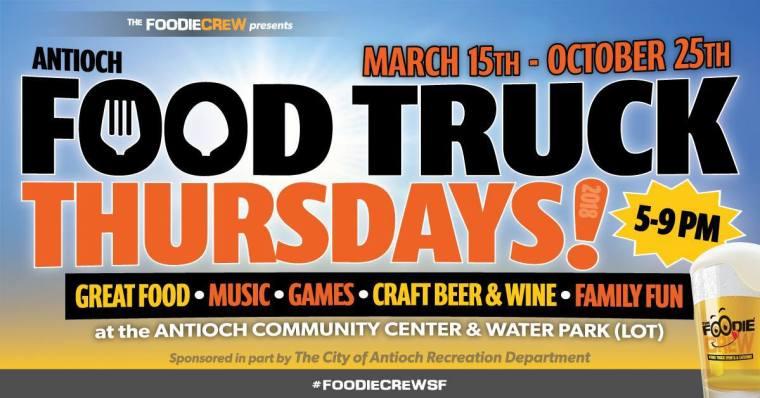 Food Truck Thursdays 2018 - Antioch