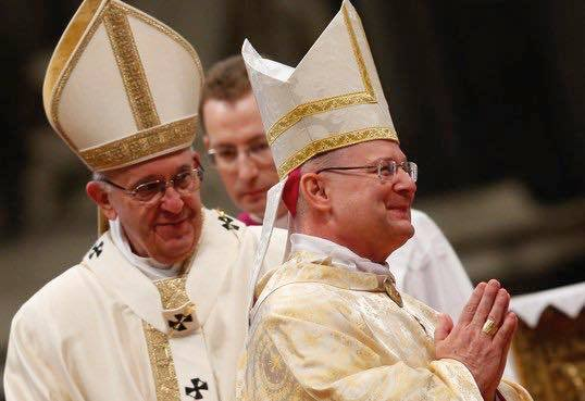 GHS graduate, American Archbishop Peter Wells ordained by Pope Francis