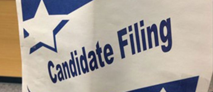 Candidate filings begin today for municipalities; ends on Wednesday