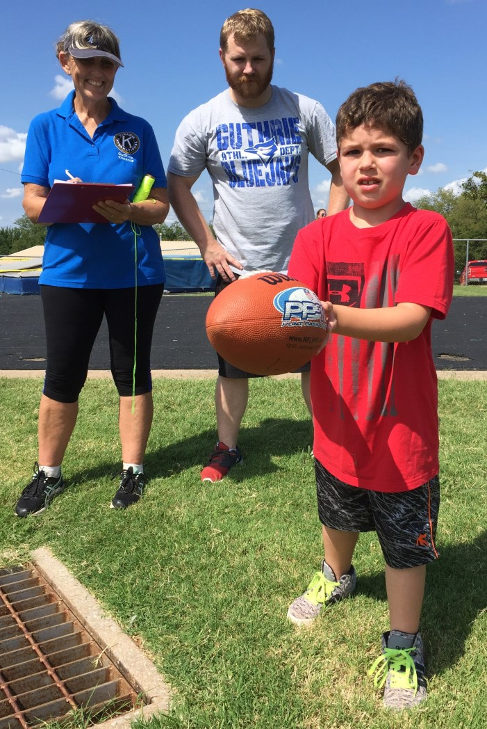 Seven winners advance in Punt Pass & Kick competition