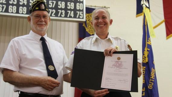 Erin Jones named Firefighter of the Year; Randolph earns LEO award