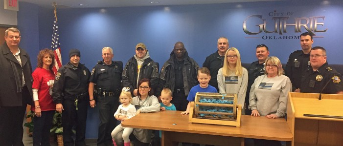 GPD officer wins raffle for fallen LCSO deputy's family