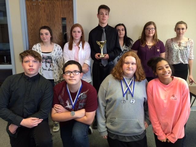 GHS Drama team takes third; advance to regionals
