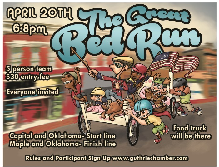 The Great Bed Run part of 89er Week