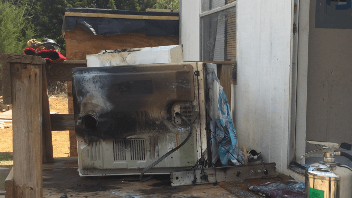 Lint trap believed to have sparked house fire