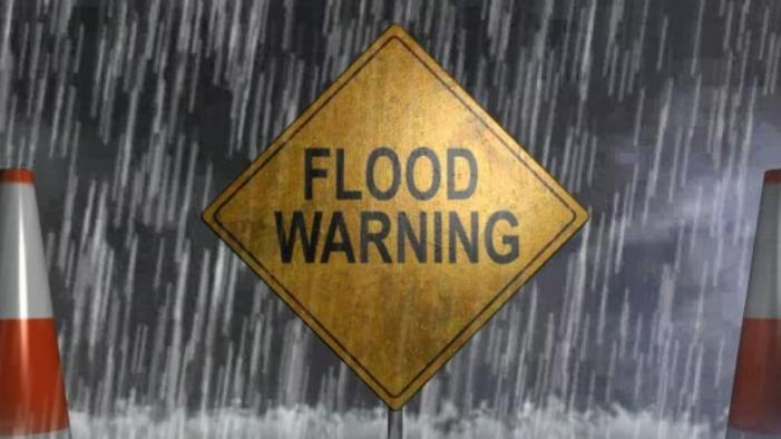 Flood Warning: Latest readings show Cottonwood Creek coming down
