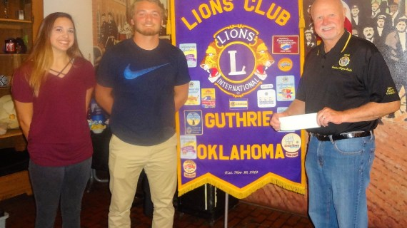 Guthrie Lions Club sponsors Girls State and Boys State participants