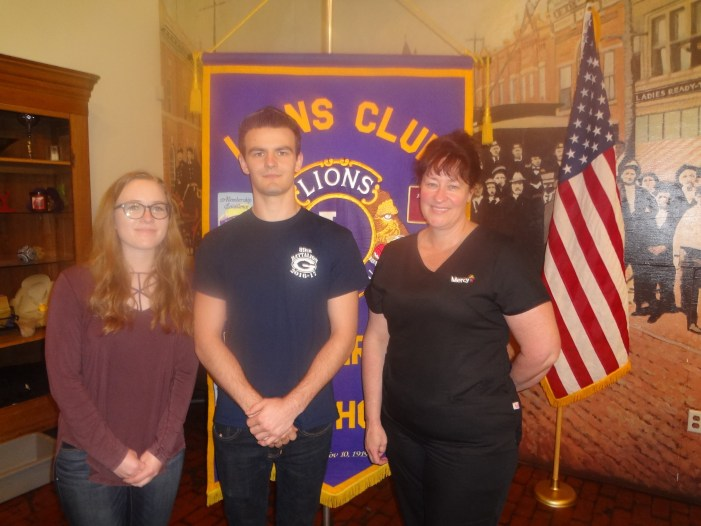 Guthrie Lions Club honors GHS students