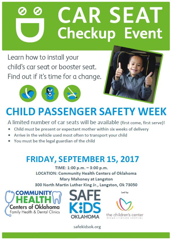 Car seat checkup event to be held in Langston