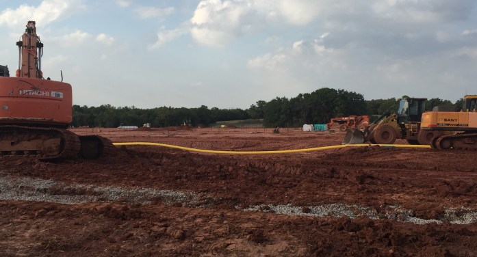 New elementary school behind construction schedule