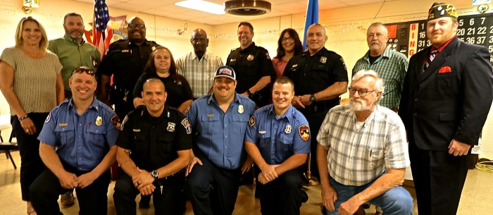 VFW recognizes local law enforcement, firefighters and paramedics with awards luncheon