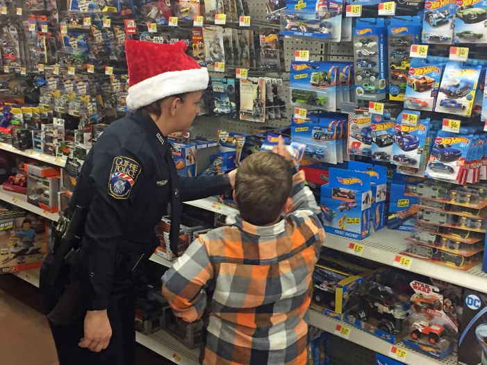 Watch: Christmas With A Cop