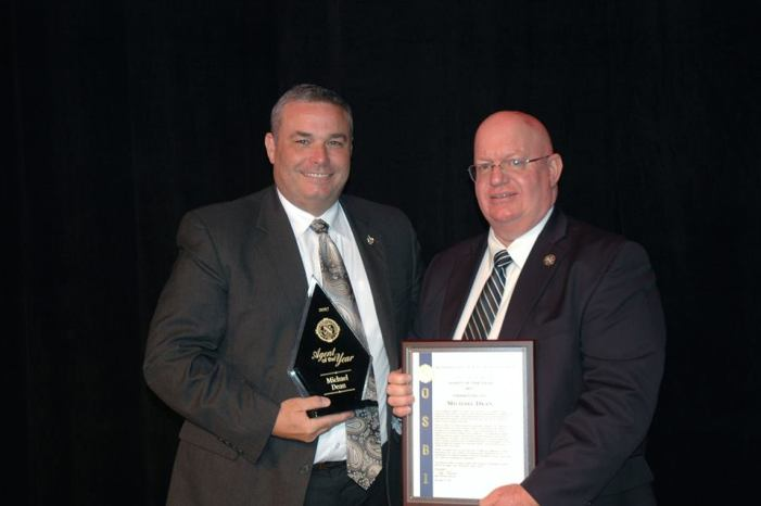 Dean named OSBI Agent of the Year