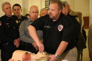 Oklahoma Sheriffs' Association donates opioid antidote to all Oklahoma sheriffs and deputies