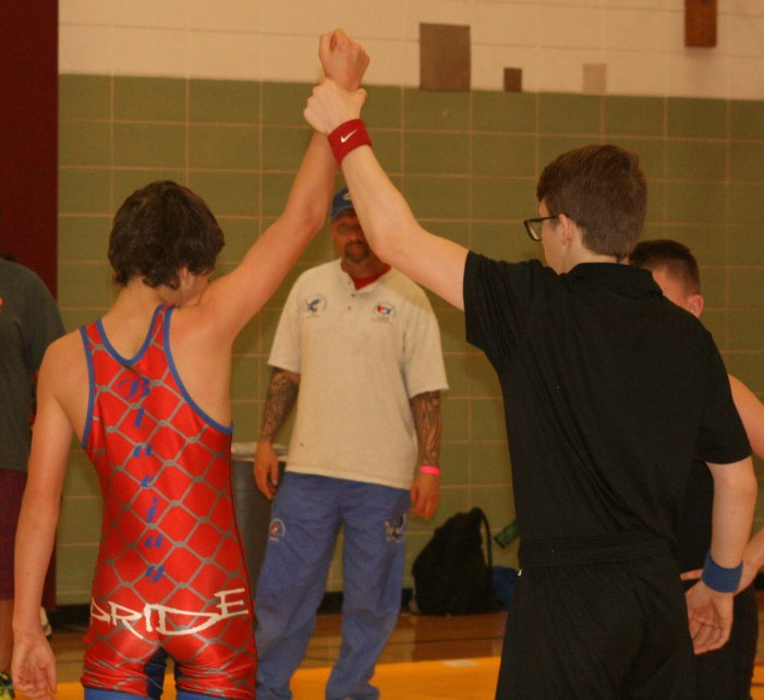 Orndorff wins wrestling tournaments; 8 total compete