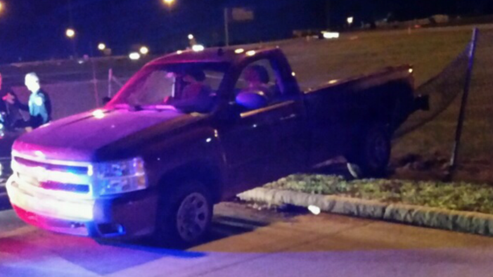 LCSO's pursuit with stolen truck goes into Edmond; suspect arrested