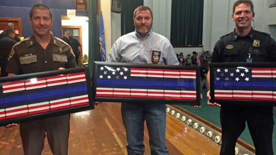 Video: Fogarty Elementary honors officers with Cake With Cops